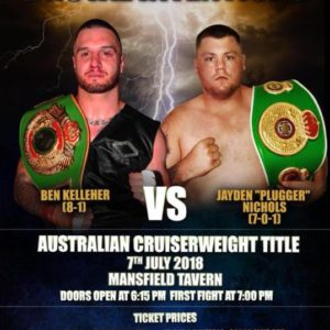 Brutal Intentions Boxing Title Fight
