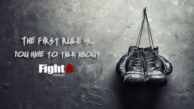 The first rule of Fight.com.au