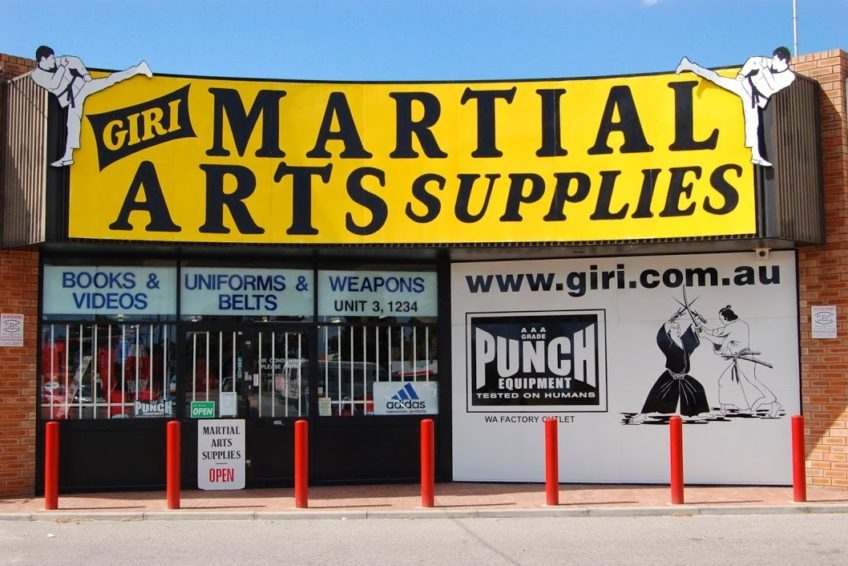 Giri Martial Arts Supplies - Perth Fight Shop - Fight com au