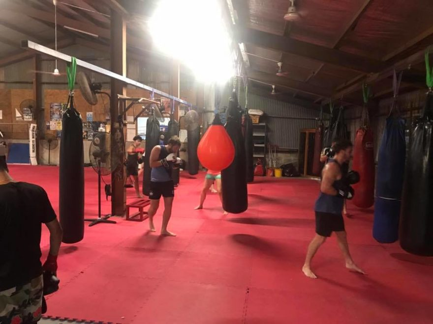 Darwin boxing gym