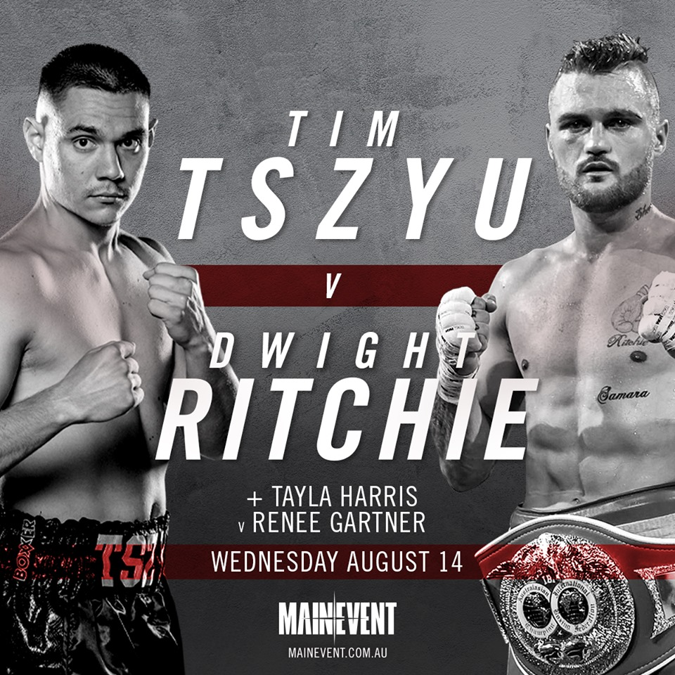 Tim Tszyu vs Dwight Ritchie